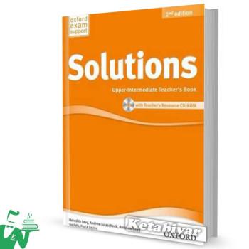 کتاب New Solutions Upper-Intermediate Teachers Book
