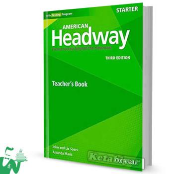 کتاب American Headway Starter (3rd) Teachers book