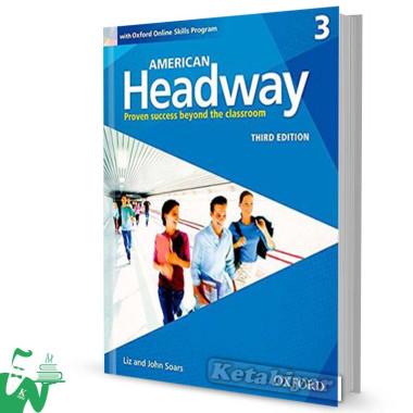 کتاب American Headway 3 (3rd) SB+WB