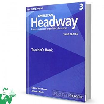 کتاب  American Headway 3 (3rd) Teachers book