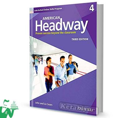 کتاب American Headway 4 (3rd) SB+WB