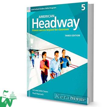 کتاب American Headway 5 (3rd) SB+WB