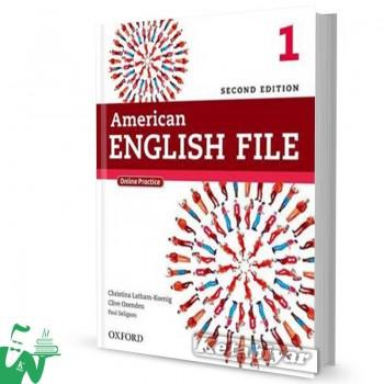 کتاب American English File 1 (2nd) SB+WB