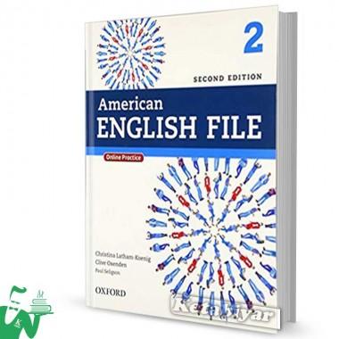 کتاب American English File 2 (2nd) SB+WB