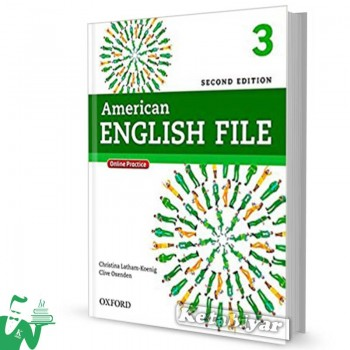 کتاب American English File 3 (2nd) SB+WB