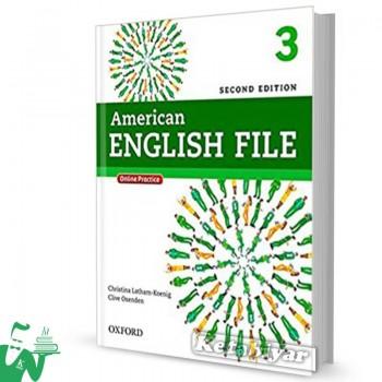 کتاب American English File 3 (2nd) SB+WB
