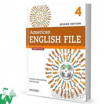 کتاب American English File 4 (2nd) SB+WB