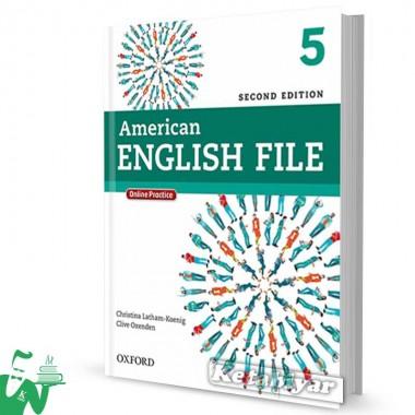 کتاب American English File 5 (2nd) SB+WB