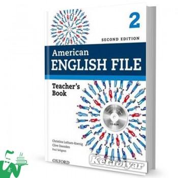 کتاب American English File 2 Teachers Book 2nd