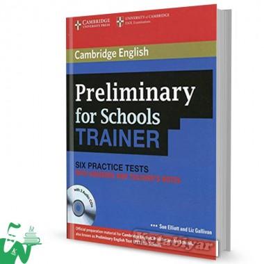 کتاب Cambridge English Preliminary for Schools Trainer
