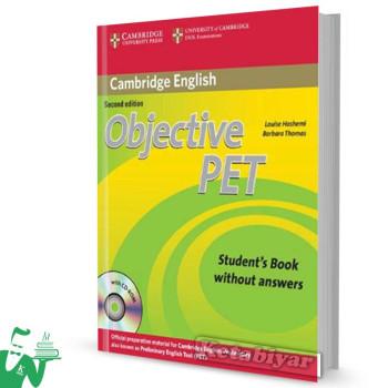 کتاب Objective PET 2nd SB+WB+For school