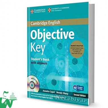 کتاب Objective Key 2nd SB+WB+for schools