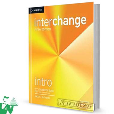 کتاب Interchange Intro (5th) SB+WB (رحلی)