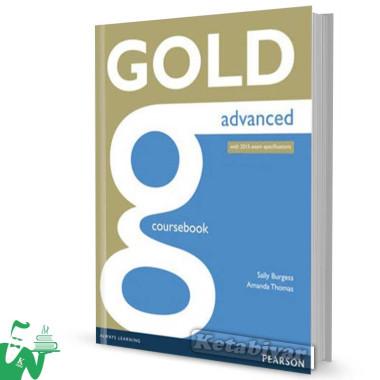 کتاب Gold Advanced 2015 Coursebook