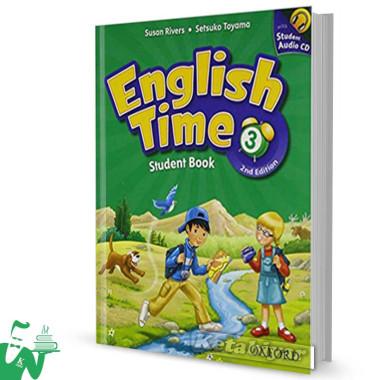 کتاب English Time 3 (2nd) SB+WB