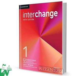 کتاب Interchange 1 (5th) SB+WB (وزیری)