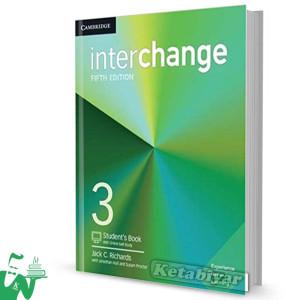 کتاب Interchange 3 (5th) SB+WB (وزیری)