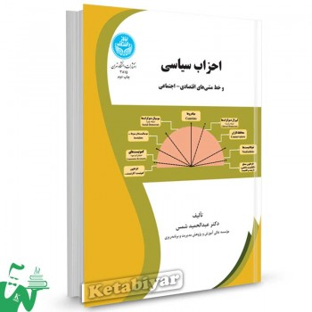 کتاب احزاب سیاسی و خط مشی های اقتصادی - اجتماعی تالیف دکتر عبدالحمید شمس