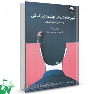 کتاب شیرجه زدن در چشمه ی زندگی تالیف تینا سیلیگ ترجمه سارا پورحسنی